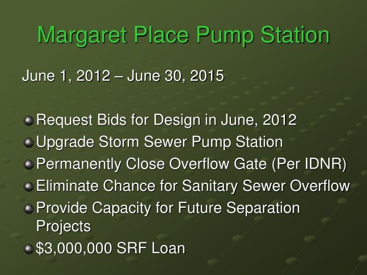 Margaret Place Pump Station