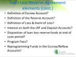 loan loss reserve agreement elements cont1