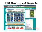 sirs discoverer and standards