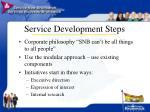 service development steps