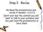 step 3 revize