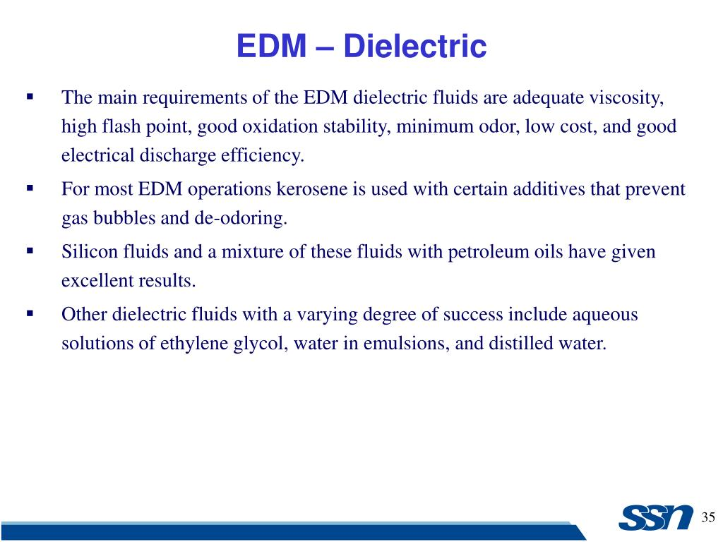 PPT - Electrical Discharge Machining (EDM) PowerPoint