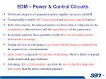 edm power control circuits
