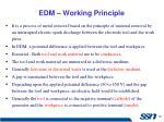 edm working principle