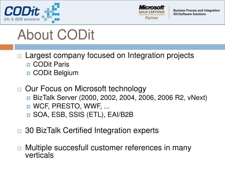 About codit