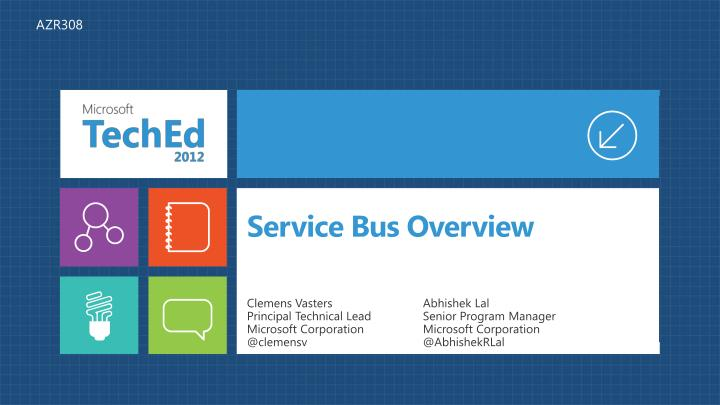 service bus overview n.
