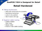 realpos 7454 is designed for retail3
