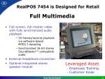 realpos 7454 is designed for retail6