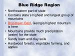 blue ridge region