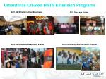 urbanforce created hsts extension programs