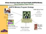 african americans reach and teach health aarth ministry core companion program services