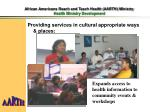 african americans reach and teach health aarth ministry health ministry development2
