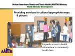 african americans reach and teach health aarth ministry health ministry development3