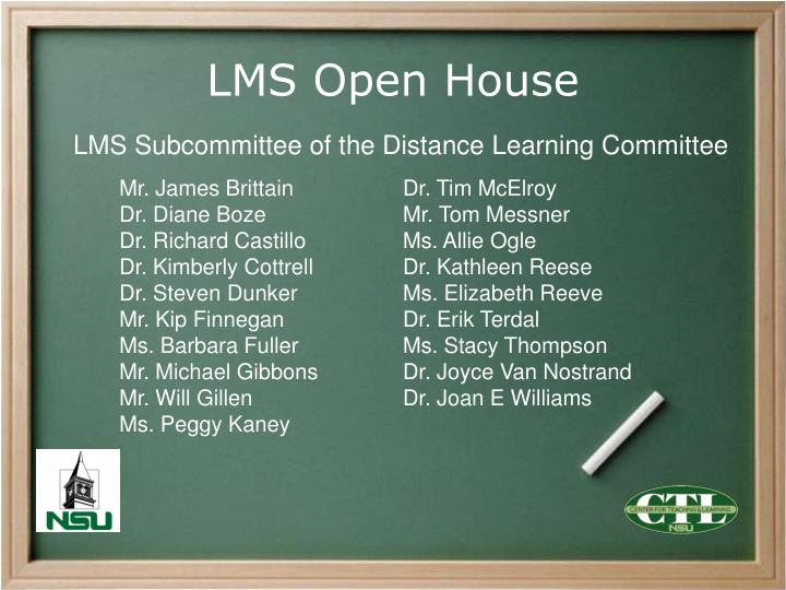 lms open house n.