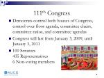 111 th congress