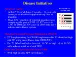 disease initiatives