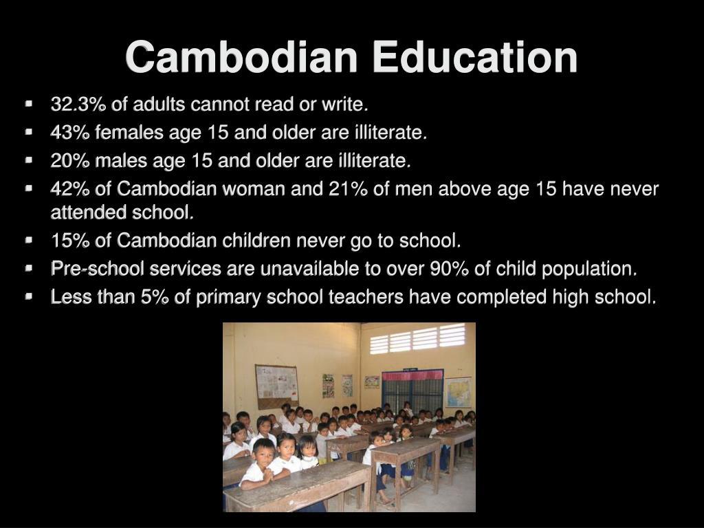 Cambodian Education