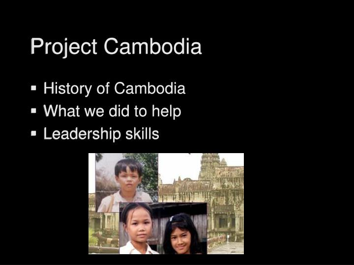 Project cambodia