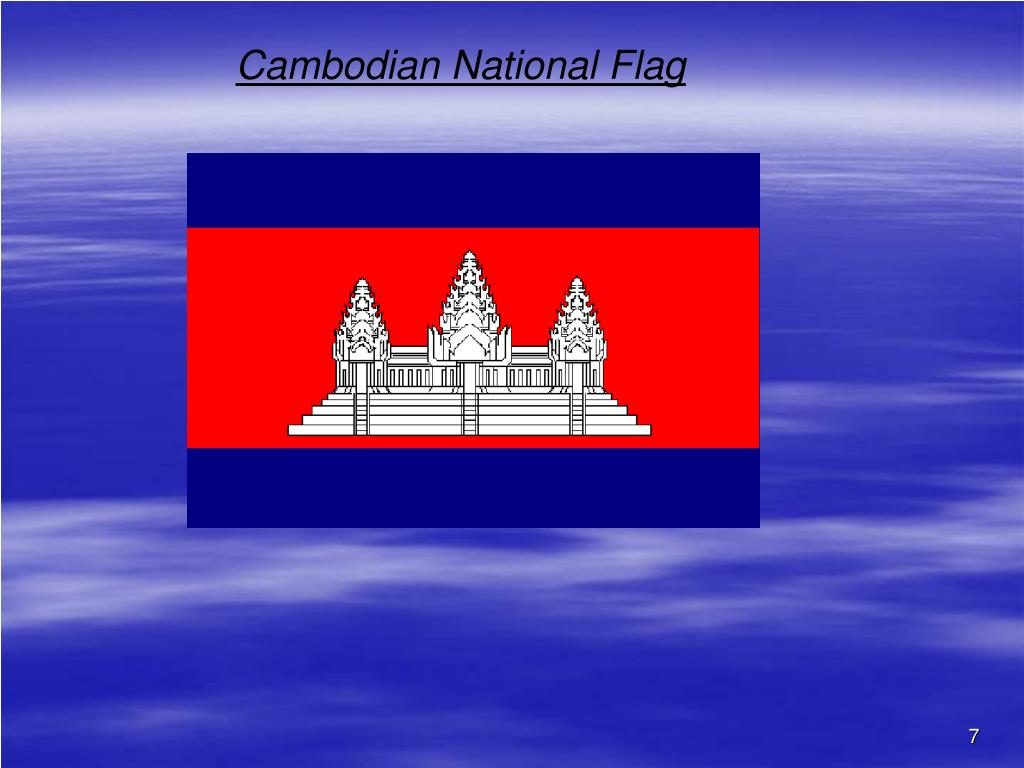 Cambodian National Flag