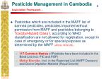 pesticide management in cambodia legislation framework5
