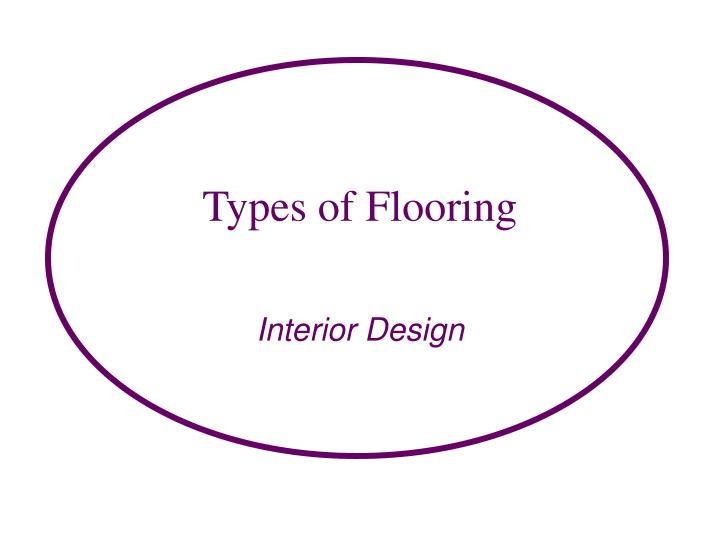 types of flooring n.