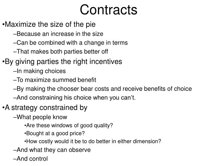 contracts n.