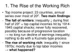 1 the rise of the working rich