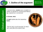 1 outline of the argument2