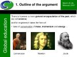 1 outline of the argument4