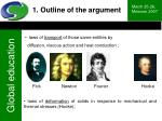 1 outline of the argument5
