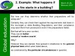 2 example what happens if a fire starts in a building1