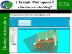 2 example what happens if a fire starts in a building10