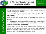 3 why the oracles are not completely reliable4