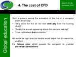 4 the cost of cfd5