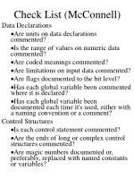check list mcconnell2