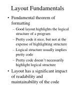 layout fundamentals