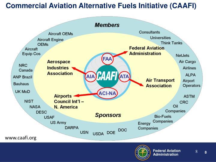 Commercial Aviation Alternative Fuels Initiative (CAAFI)