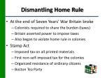 dismantling home rule