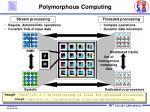 polymorphous computing