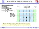 time domain convolution on raw