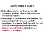 bilski claim 1 cont d