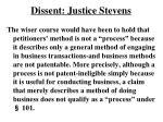 dissent justice stevens