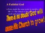 a faithful god1
