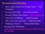 recommended reading1
