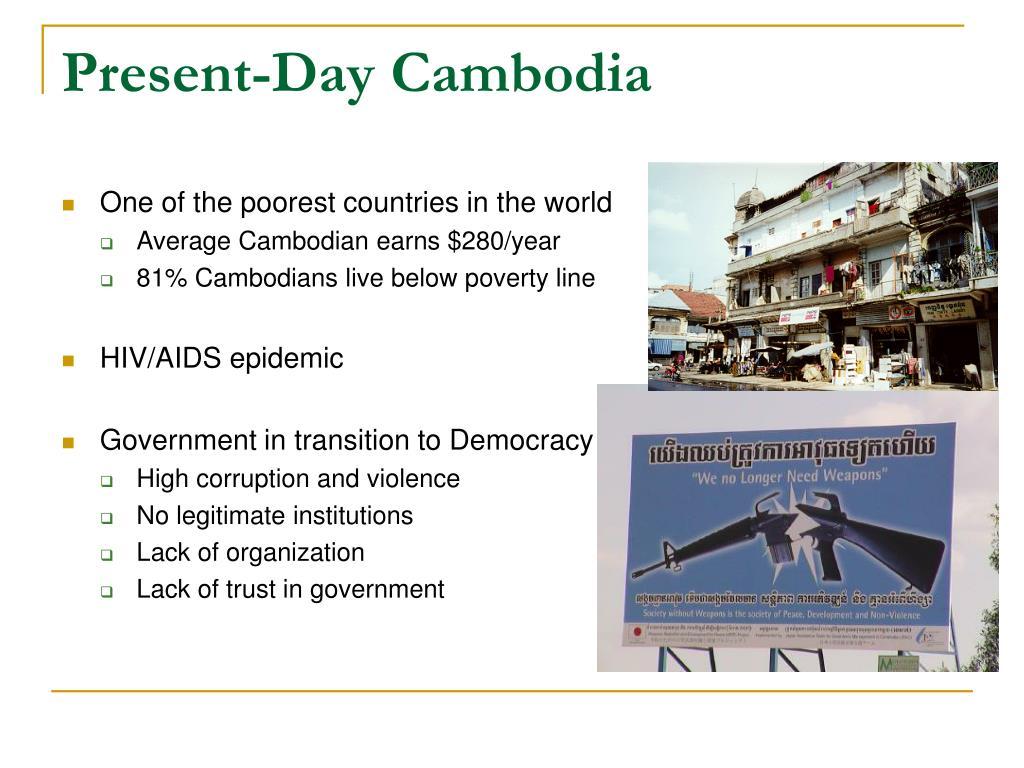 Present-Day Cambodia