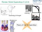 review nickel superalloys ii l5 6