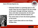 gaia ultimate sports inc