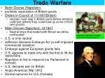 trade warfare