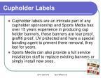 cupholder labels