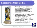 experience cool media